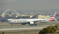 N717AN @ KLAX - Taxiing to gate at LAX - by Todd Royer