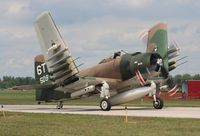N2AD @ YIP - AD-1 Skyraider - by Florida Metal
