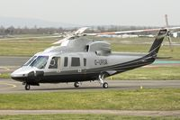 G-URSA @ EGBJ - 2007 Sikorsky S-76C, c/n: 760699 at Gloucestershire Airport on Day 1 of the 2014 Cheltenham Horse Racing Festival