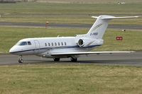 G-PROO @ EGBJ - Hawker 4000 at Gloucestershire Airport on Day 1 of the 2014 Cheltenham Horse Racing Festival