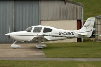 G-CGRD @ EGBJ - 2006 Cirrus SR22, c/n: 2234