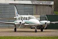 N370RC @ EGBJ - 1968 Piper PA-31-310, c/n: 31-268