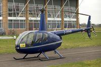 G-ODHB @ EGBJ - 2005 Robinson R44 II, c/n: 10985 - by Terry Fletcher