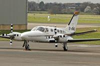 EI-DMG @ EGBJ - Cessna 441, c/n: 441-0165