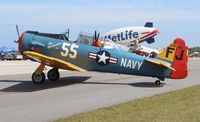 N5FJ @ EVB - AT-6 Texan painted as an SNJ