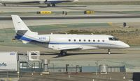 N2BG @ KLAX - Taxiing to parking at LAX