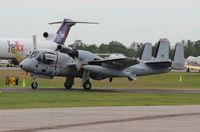 N10VD @ LAL - Grumman OV-1D Mohawk