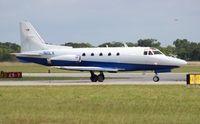 N11LX @ ORL - North American Rockwell Sabreliner