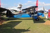 N24NF @ LAL - Aviat A-1C