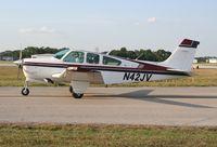 N42JV @ LAL - Beech F33A