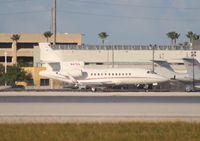N47EG @ MIA - Falcon 900EX