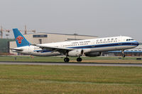 B-2283 @ ZYTX - landing RWY24 - by feiruitao