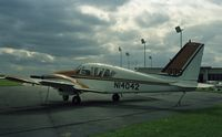 N14042 - Parked at Paris/Toussus-le-Noble airport, still with 1971 Paris-Le Bourget airshow number. - by J-F GUEGUIN