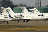 N604EP @ EGGW - Bombardier CL604, c/n: 5462 (ex D-AHLE ) at Luton - by Terry Fletcher