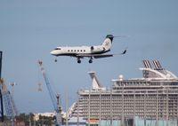 N61WH @ FLL - Gulfstream IV Miami Dolphins