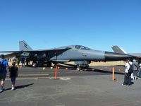 A8-125 @ YMPC - RAAF's first F111 at RAAF 100th Anniversary Airshow, Pt Cook. - by red750