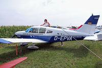 D-EPVA @ EDMT - Piper PA-28-180 Cherokee [28-7305352] (Elkair) Tannheim~D 23/08/2013 - by Ray Barber