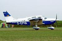 D-EPVA @ EDMT - Piper PA-28-180 Cherokee [28-7305352] (Elkair) Tannheim~D 24/08/2013 - by Ray Barber
