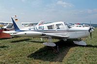 D-ELAU @ EDMT - D-ELAU   Piper PA-28-140 Cherokee [28-7325296] Tannheim~D 23/08/2013 - by Ray Barber