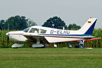 D-ELAU @ EDMT - D-ELAU   Piper PA-28-140 Cherokee [28-7325296] Tannheim~D 24/08/2013 - by Ray Barber