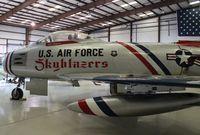 N86FR @ TIX - F-86F Skyblazers
