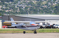 N8359T @ BTF - N8359T Cessna 175 at Skypark, UT - by Pete Hughes