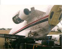 N63HB @ CHN - Overshot the runway at Wauchula, FL. - by Terry L. Swann