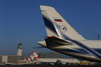 RA-82043 @ LOWW - Volga Dnepr Antonov 124 - by Dietmar Schreiber - VAP