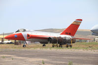NASA-708 @ ONO - NASA 708 ex Bu11593 F5D-1 Skylancer at Ontario, OR - by Pete Hughes