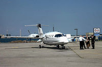 C-GFOX @ CYTZ - July 2006. Toronto Island City Centre Airport. The passengers boarding are Giuliano Zaccardelli, Commissioner of the RCMP and Jim Judd, Director of CSIS. - by Bettie Martindale