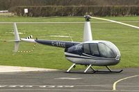 G-BZGO @ EGCB - 2000 Robinson R44 Astro, c/n: 0757 ay City of Manchester Airport