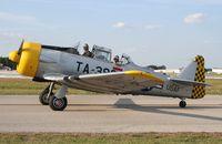N104DC @ LAL - T-6G Texan - by Florida Metal