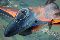 J-015 @ INFLIGHT - Dutch Air Force F16