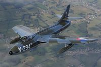 G-KAXF @ INFLIGHT - Hawker Hunter