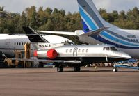 M-RACE @ EGHH - With the 737s at European apron - by John Coates