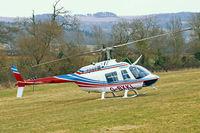 G-BXKL @ EGBC - Bell 206B-3 Jet Ranger III [3006] Cheltenham Racecourse~G 18/03/2010