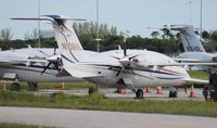 N109SL @ PBI - Avantair Piaggio P180 parked at PBI after Avantair shut down