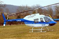 G-BLGV @ EGBC - Bell 206B2 Jet Ranger II [982] (Heliflight) Cheltenham Racecourse~G 17/03/2010