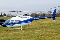 G-BLGV @ EGBC - Bell 206B2 Jet Ranger II [982] (Heliflight) Cheltenham Racecourse~G 13/03/2004