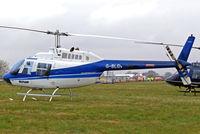 G-BLGV @ EGBC - Bell 206B2 Jet Ranger II [982] (Heliflight) Cheltenham Racecourse~G 14/03/2008
