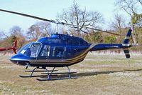 G-HMPH @ EGBC - Bell 206B2 Jet Ranger II [1232] Cheltenham Racecourse~G 16/03/2010