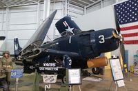 N121CH - AD-4N Skyraider at Battleship Alabama Memorial