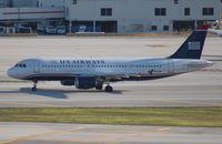 N121UW @ MIA - USAirways A320