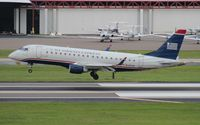 N132HQ @ TPA - USAirways E175