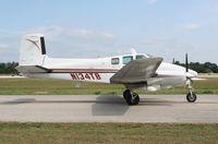 N134TB @ LAL - Beech H50 Twin Bonanza - by Florida Metal