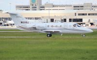 N135BJ @ PBI - Beech 400A - by Florida Metal