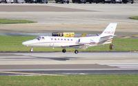 N136JD @ TPA - Citation 560