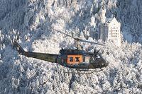 70 88 @ INFLIGHT - UH1 German Air Force