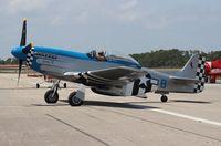 N151FT @ EVB - P-51D Lady B