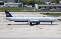 N151UW @ FLL - USAirways A321